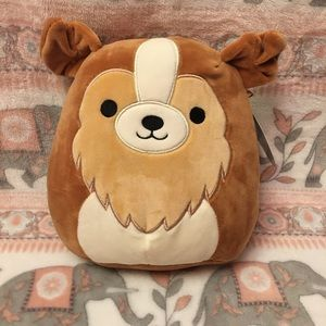 Squishmallow Dog NWT